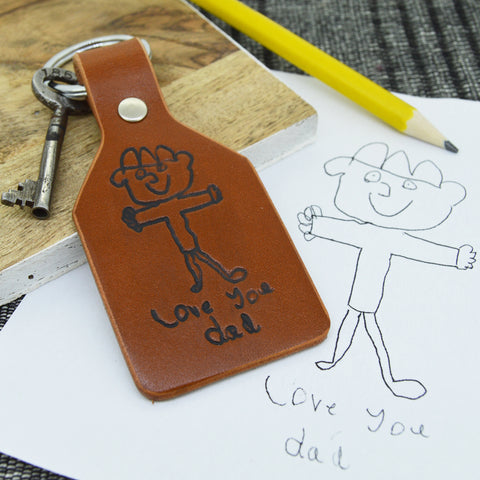 Personalised Little Artist Keyring