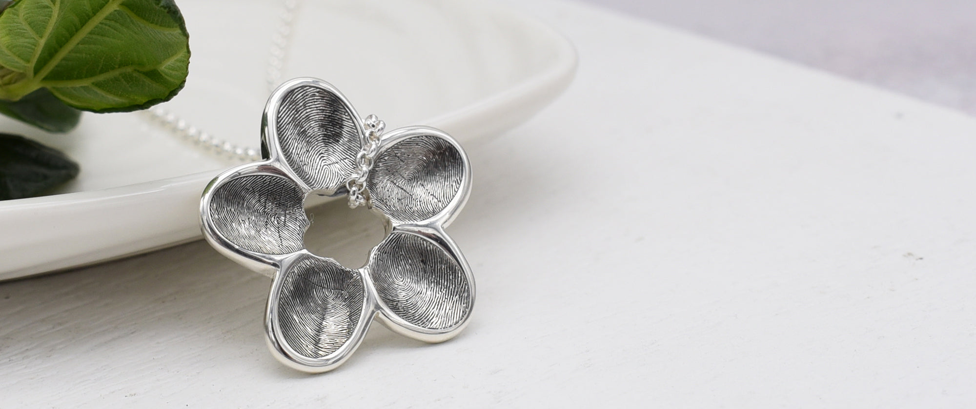Personalised Fingerprint Memorial Jewellery