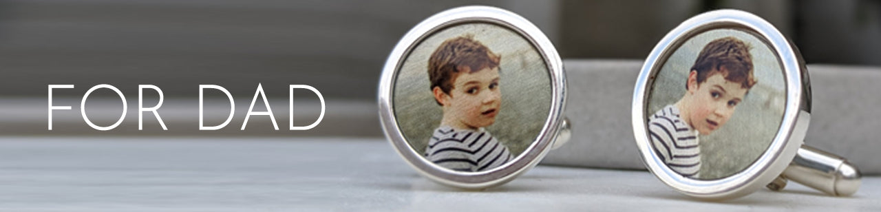 father's day personalised jewellery & gifts