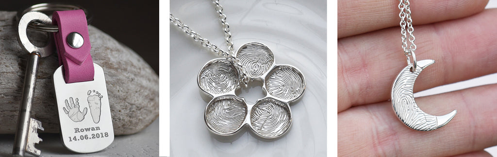 fingerprint jewellery for mum