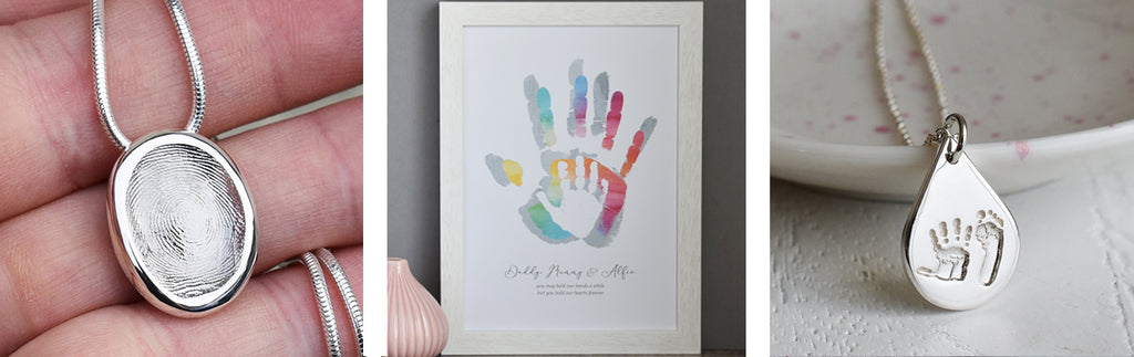 personalised fingerprint gifts for her
