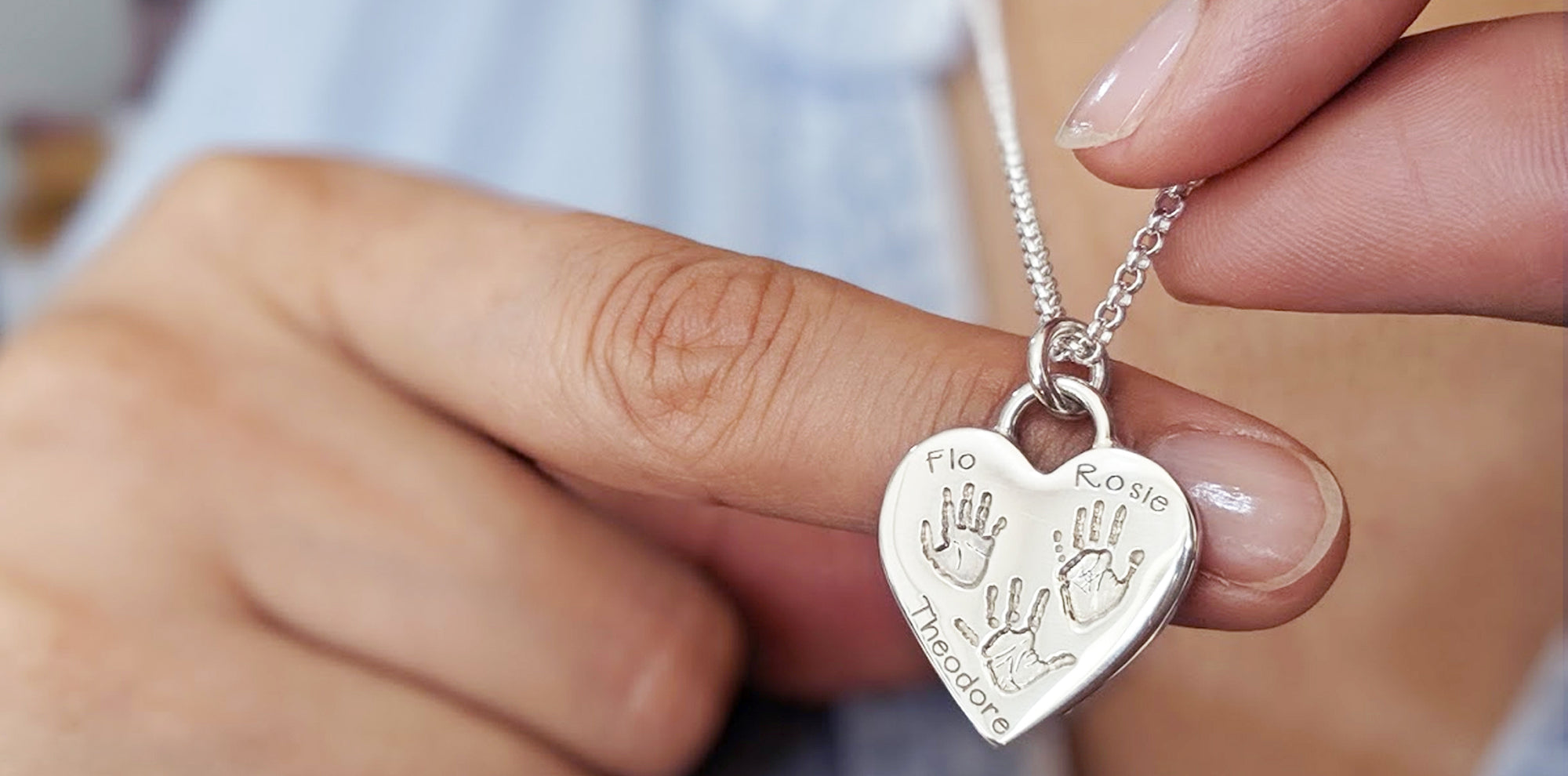 Handprint and Footprint Jewellery | Memorial Jewellery