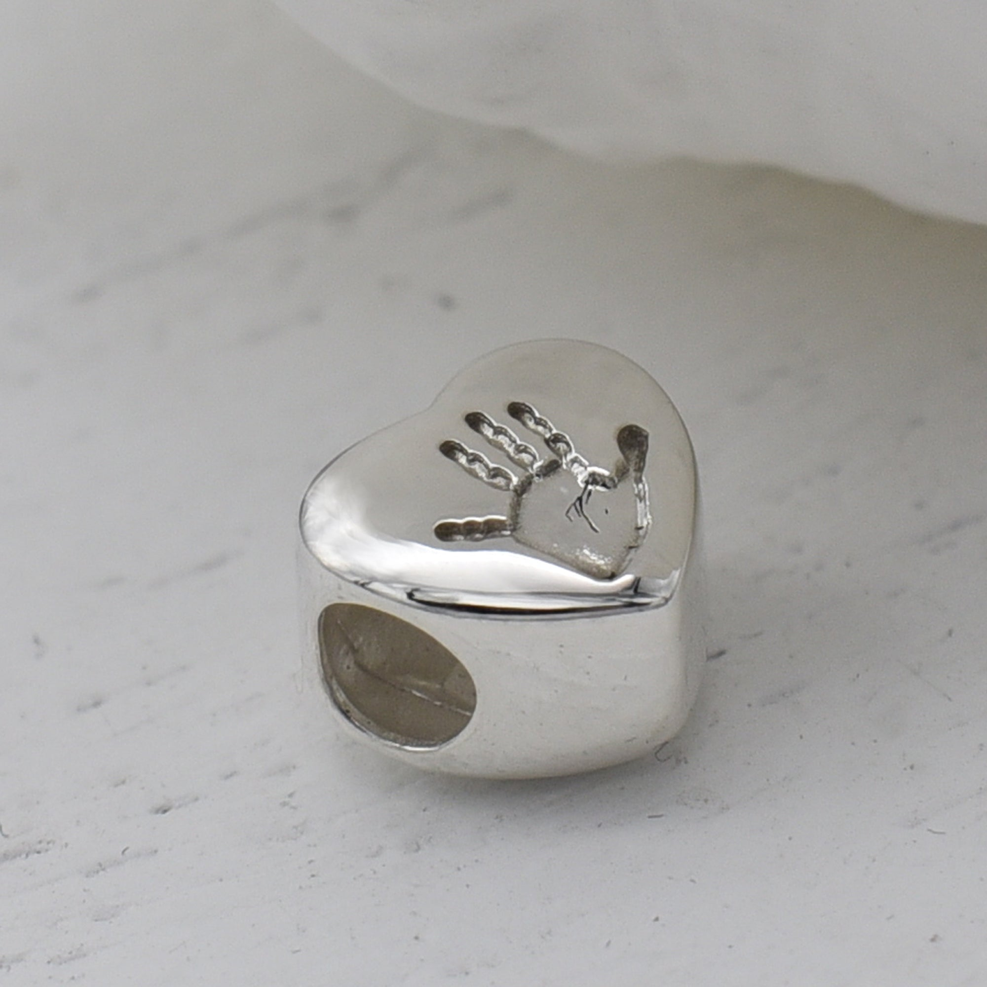 Handprint and Footprint Charms | Silver and Gold