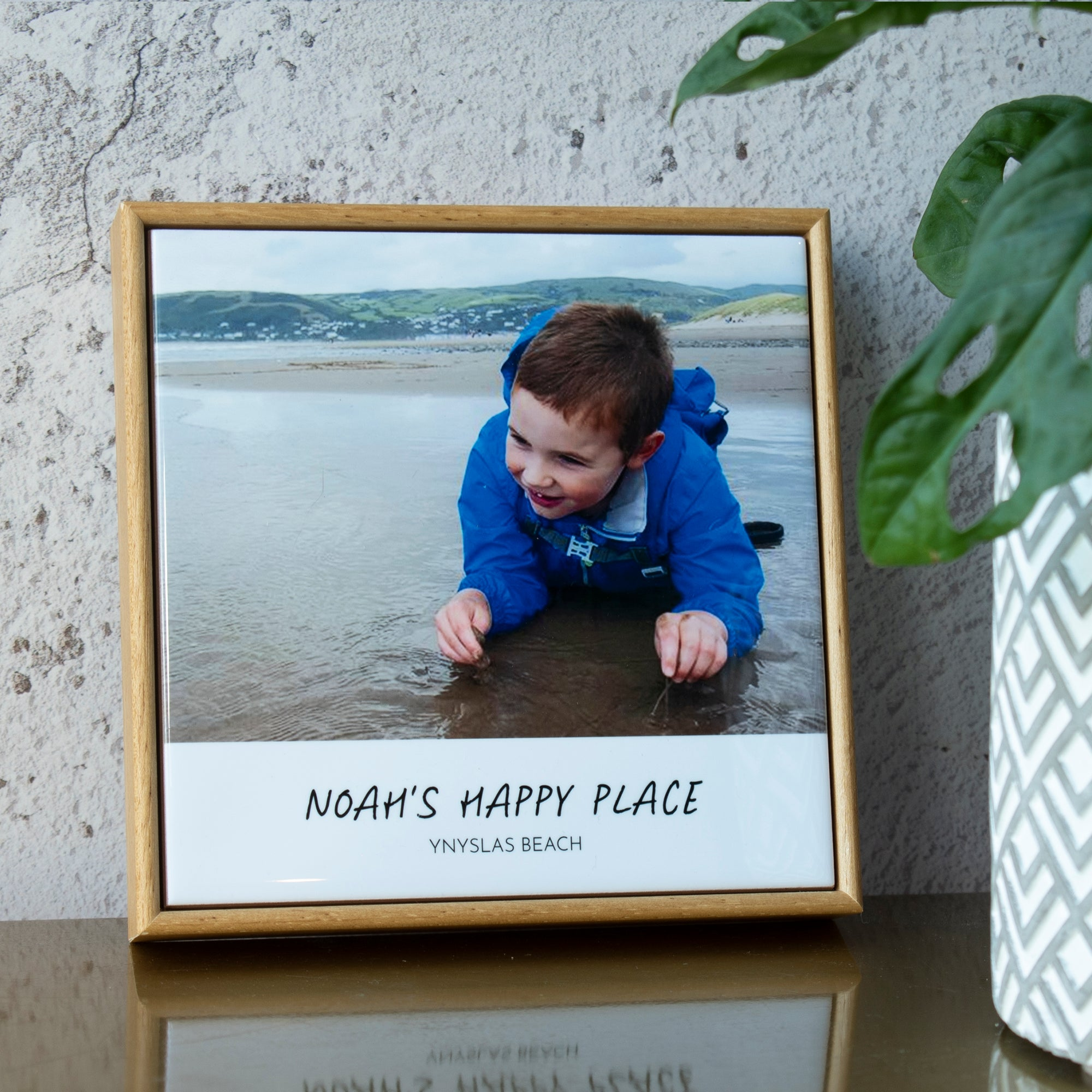 PERSONALISED FRAMED PHOTO TILE