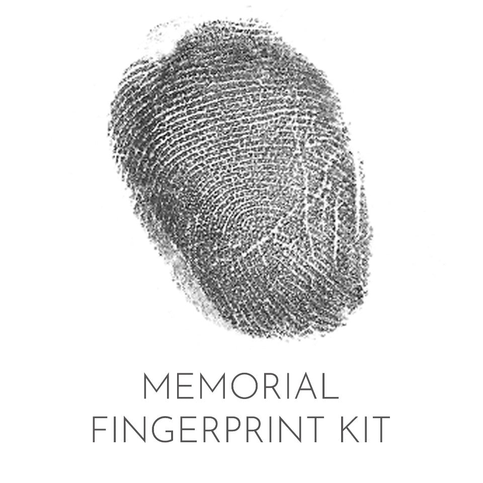 FINGERPRINT KIT FOR MEMORIAL JEWELLERY
