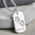PAW PRINT DOG TAG NECKLACE