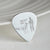 Personalised silver plectrum - your drawing