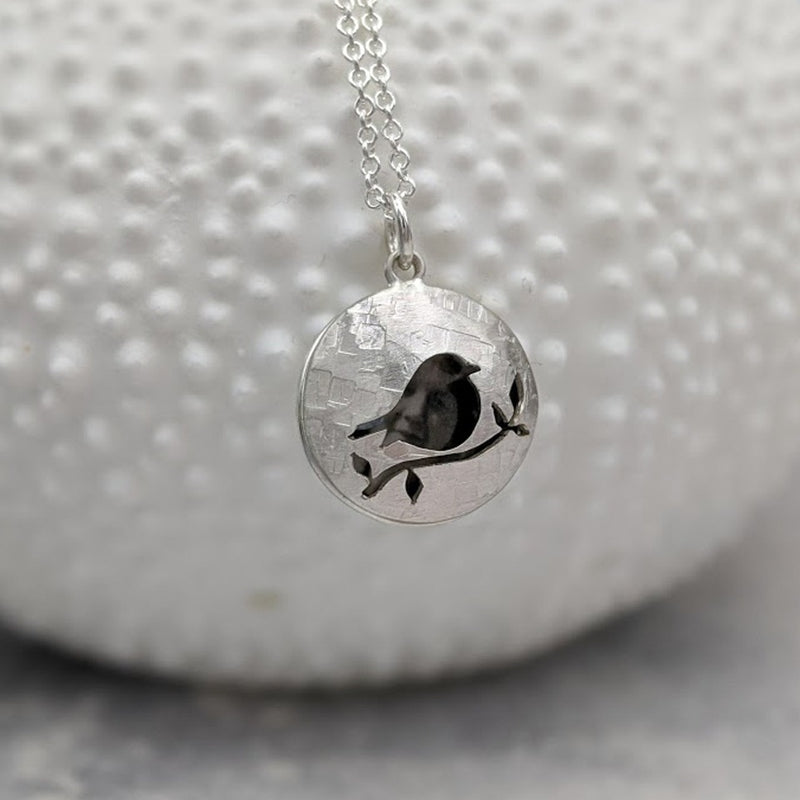 PERSONALISED ROBIN PHOTO LOCKET