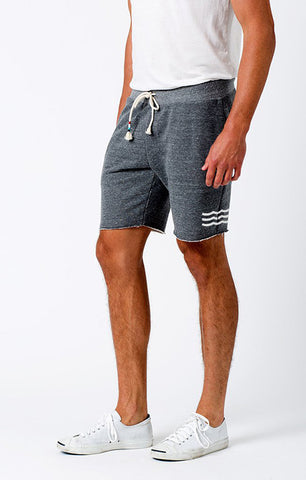 MENS ESSENTIAL WAVES HEATHER SHORT