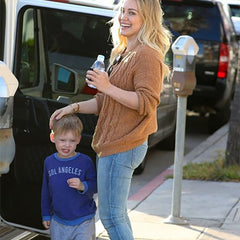 Hilary Duff and Luca in Sol Angeles
