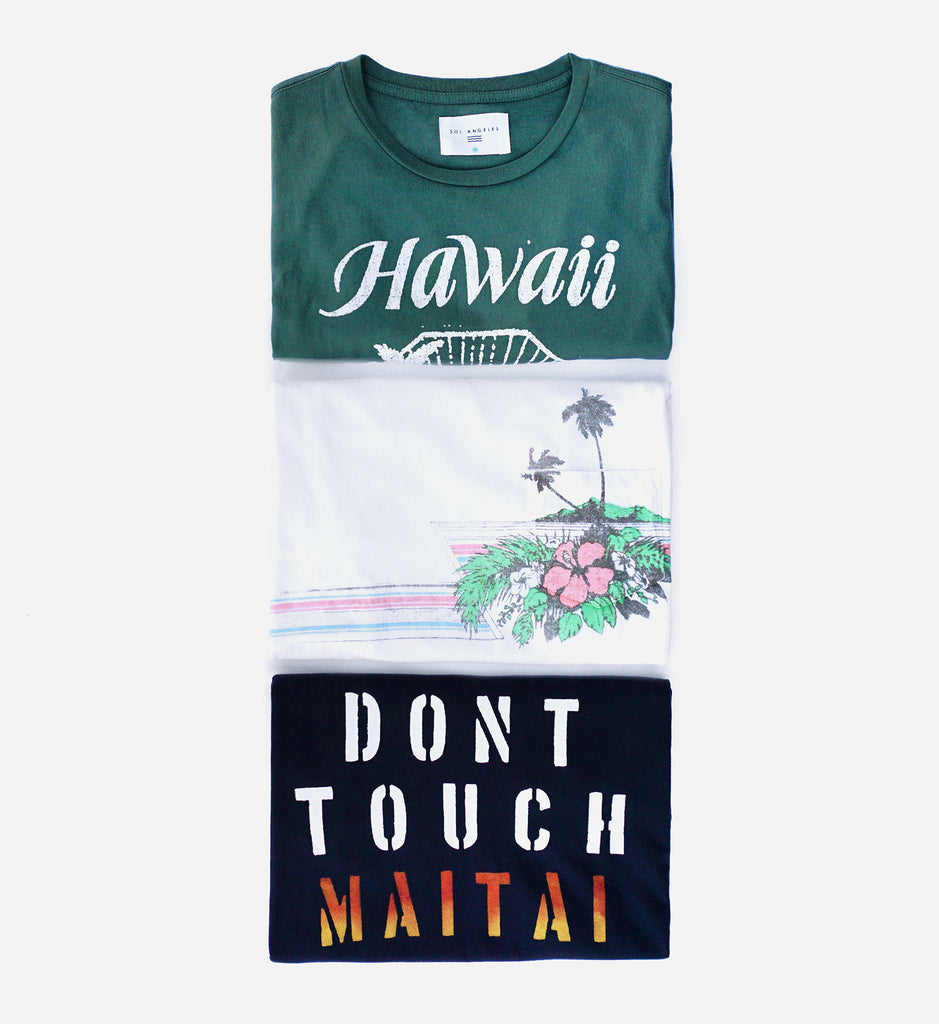 Greetings from hawaii sol angeles the warm sun soft sand clear waters the tropical cocktails check out some of our favorites from the collection inspired by the beautiful islands kristyandbryce Choice Image