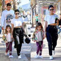 Kourtney Kardashian and Penelope in Sol Angeles