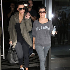 Kourtney Kardashian in Sol Angeles