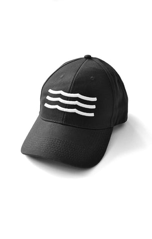 WAVES HAT - BLACK