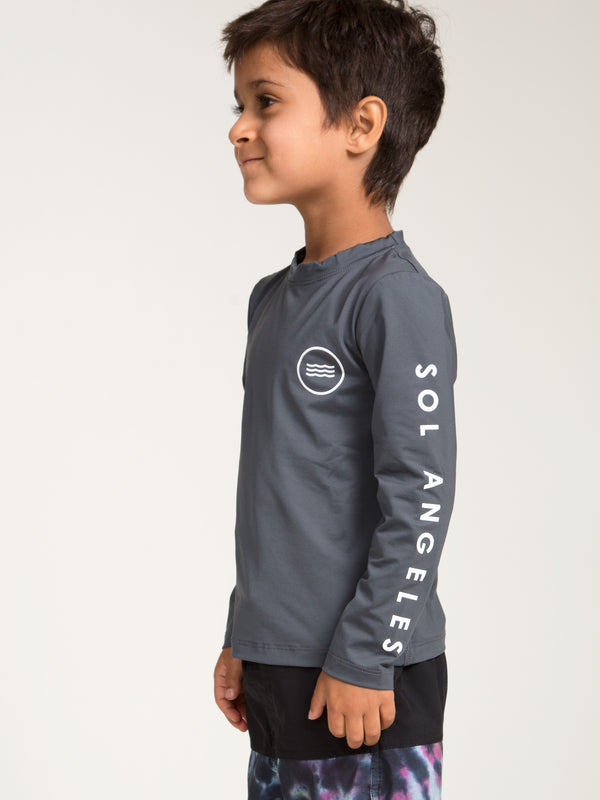 WAVES LONG SLEEVE RASHGUARD