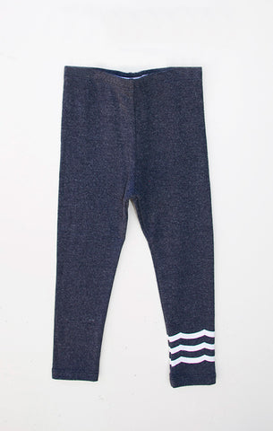 WAVES LEGGING - INDIGO