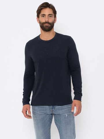 ECO SLUB LONG SLEEVE CREW