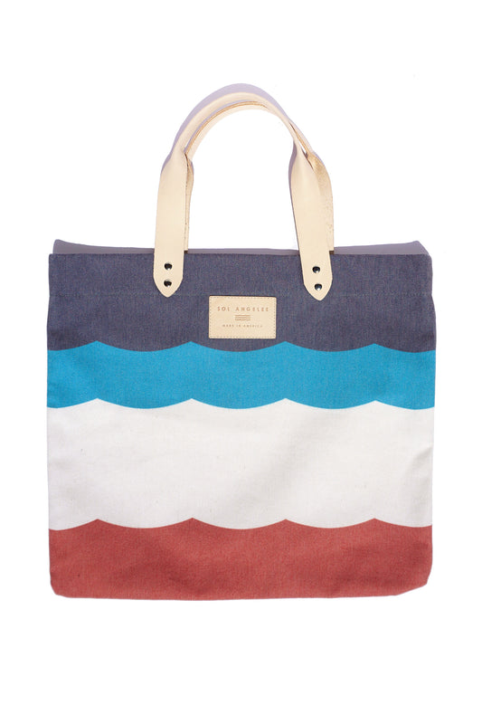 SOL FLAG CANVAS TOTE