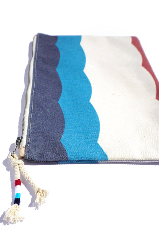 SOL FLAG CANVAS CLUTCH