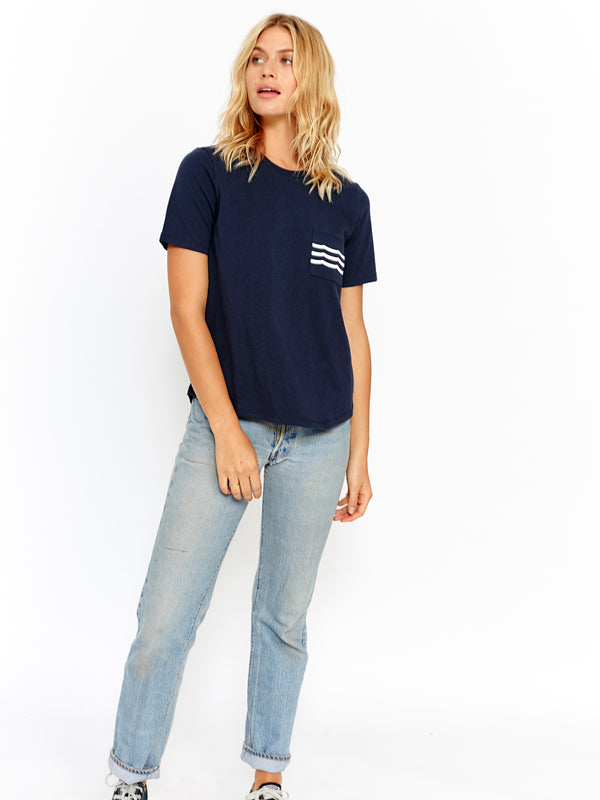 WAVES POCKET TEE