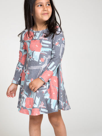 ROSE GARDEN HACCI DRESS