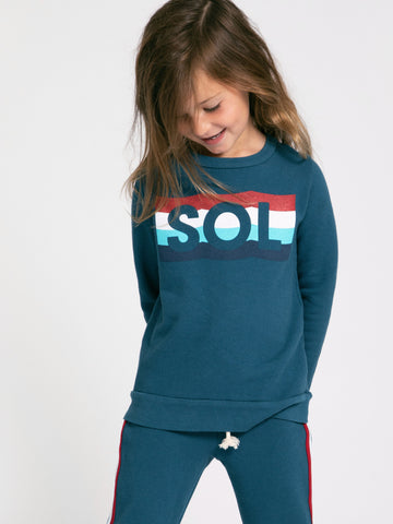 SOL WAVES PULLOVER