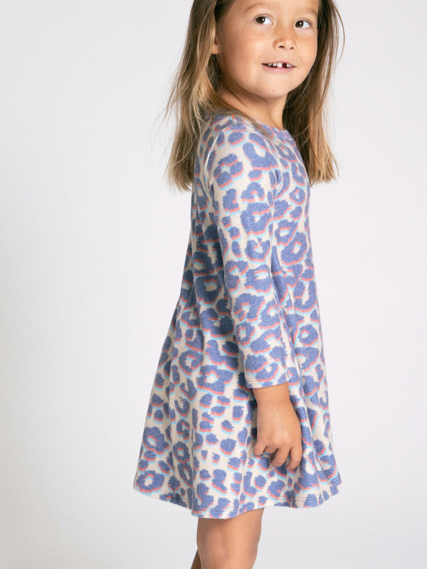 SOL LEOPARD HACCI DRESS