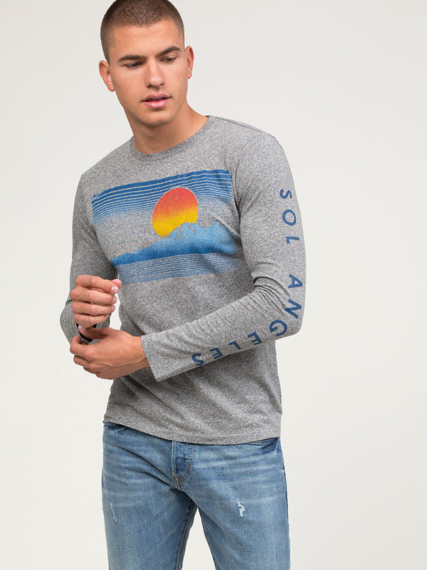 ALPINE SUNRISE LONG SLEEVE CREW