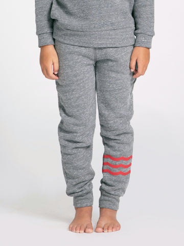 WAVES RED JOGGER