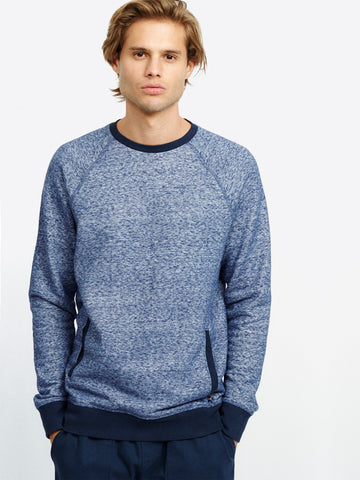 DENIM PULLOVER WITH POCKET