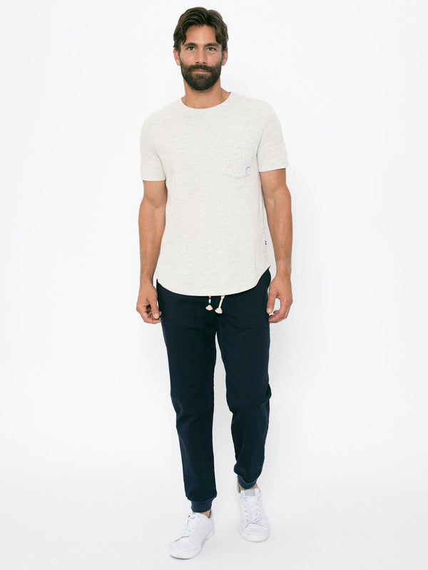 ASH THERMAL SCALLOP POCKET CREW