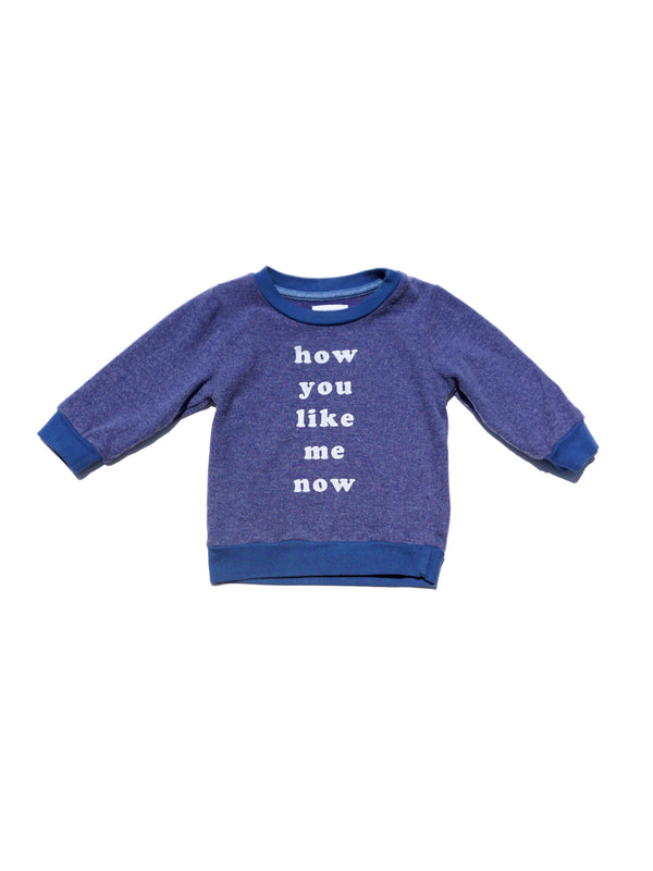 HOW YOU LIKE ME NOW HACCI PULLOVER