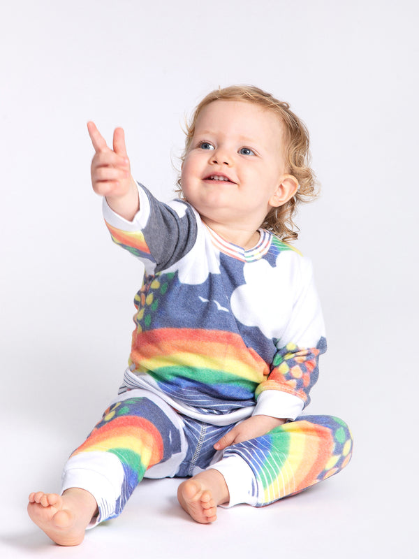 OVER THE RAINBOW HACCI PULLOVER