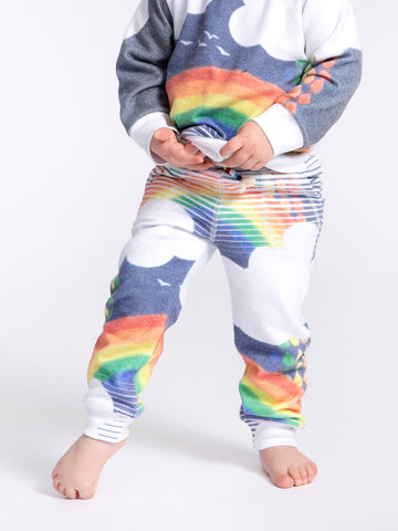 OVER THE RAINBOW HACCI JOGGER