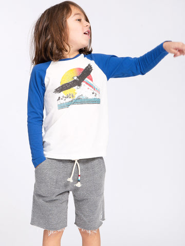 EAGLE RISE LONG SLEEVE BASEBALL TEE
