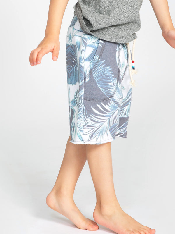 BLUE BOTANICS BOY SHORT
