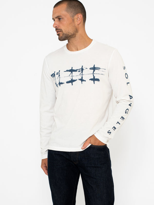 REFLECTIONS LONG SLEEVE CREW