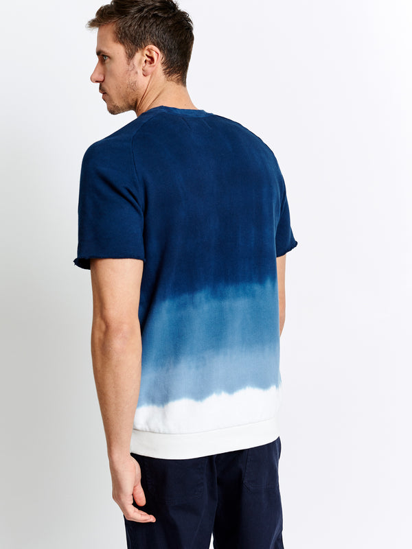 OMBRE SHORT SLEEVE PULLOVER