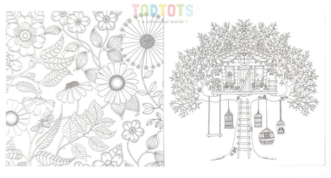 Creative Colouring Gift Card