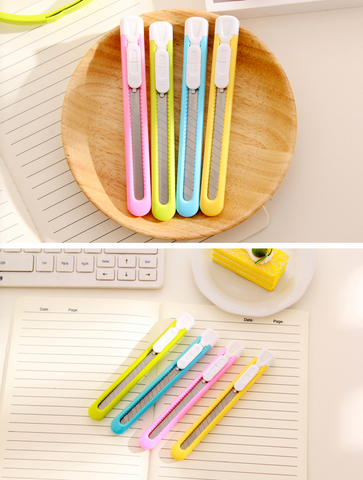 Candy Colored Pen or Fruit Knife School Supplies