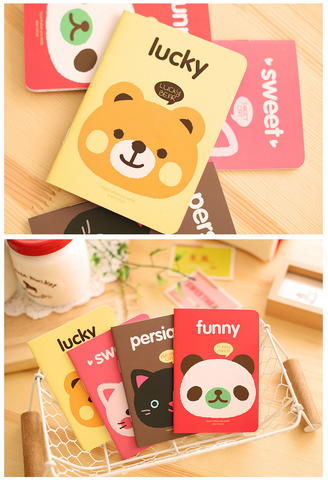 Happy Animal Collection 1 - Notebook