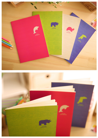 Animal Crayon Collection 3 - Notebook