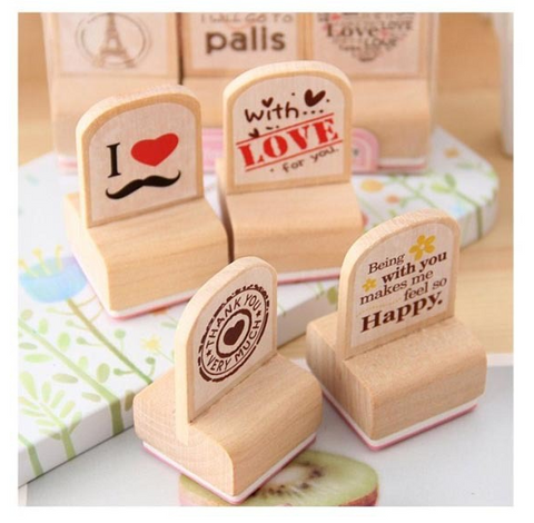 Leisure Crafting Stamp Set - 3 pieces