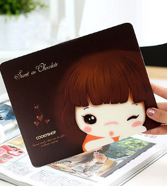 Cute Little Girl Mousepad