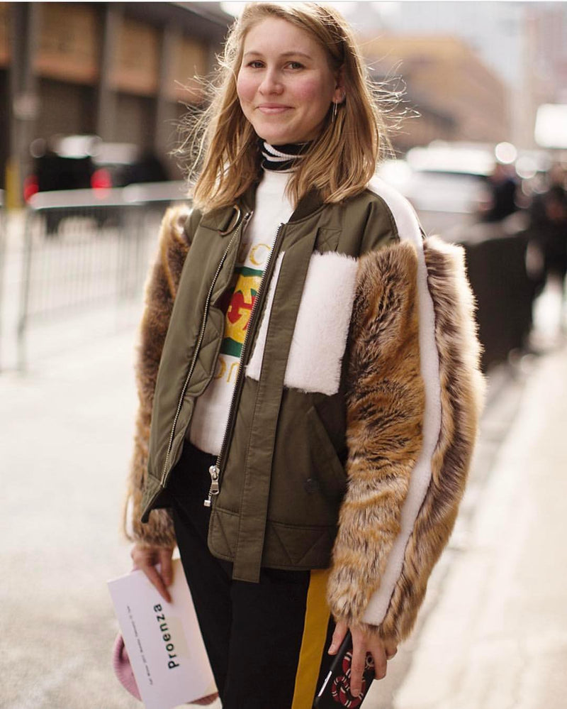 Jessica Minkoff by the Sartorialist