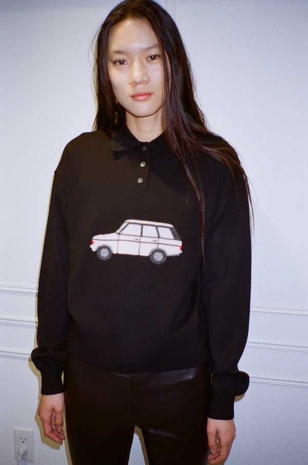 Lil Tour Sweater Black