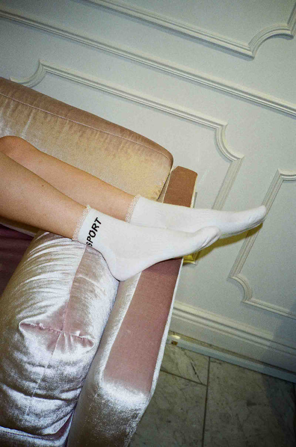 Sport Socks in White