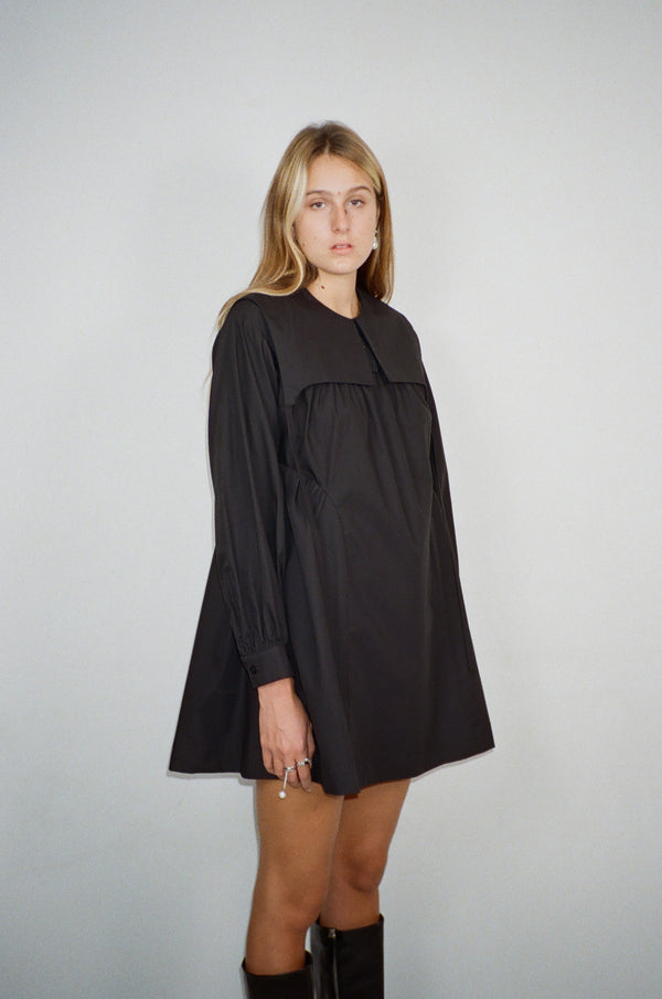 Crash Dress in Black