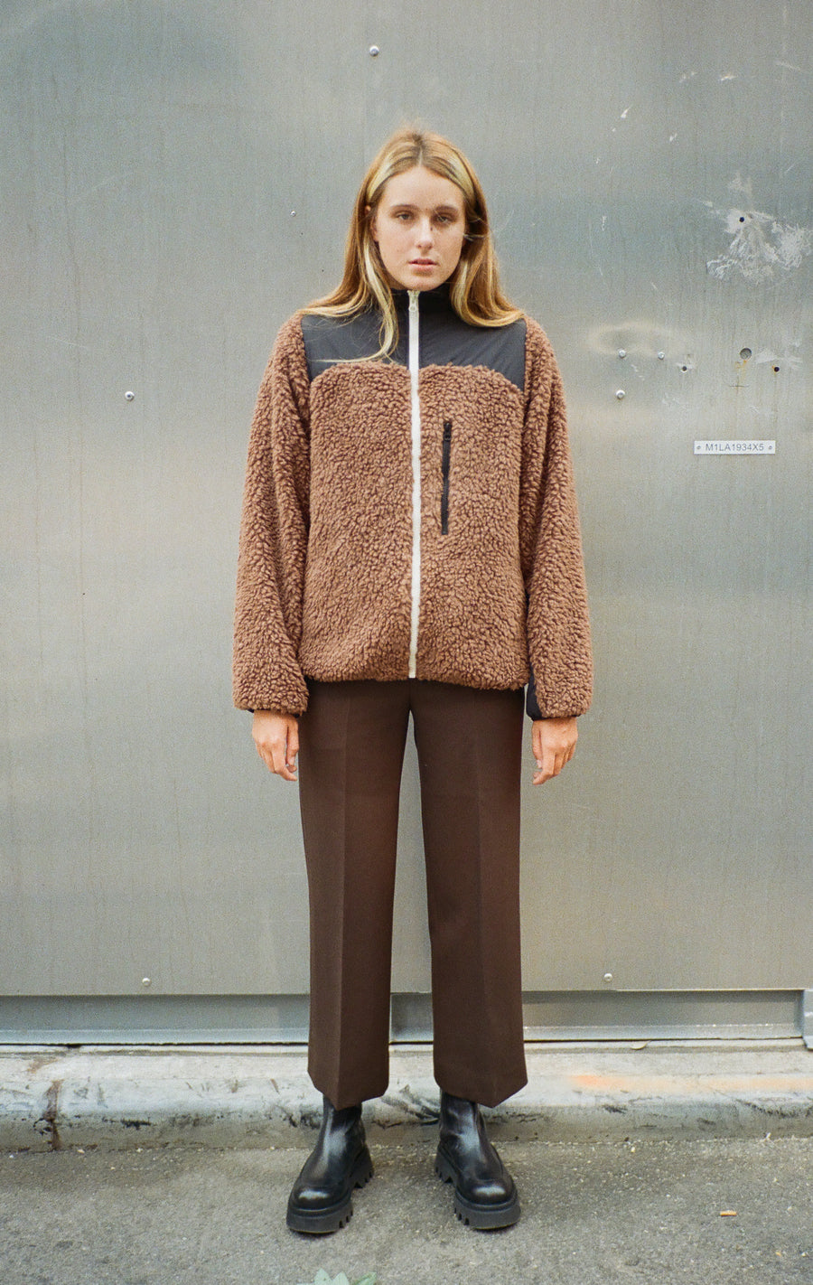 Rushi Fleece in Teddy