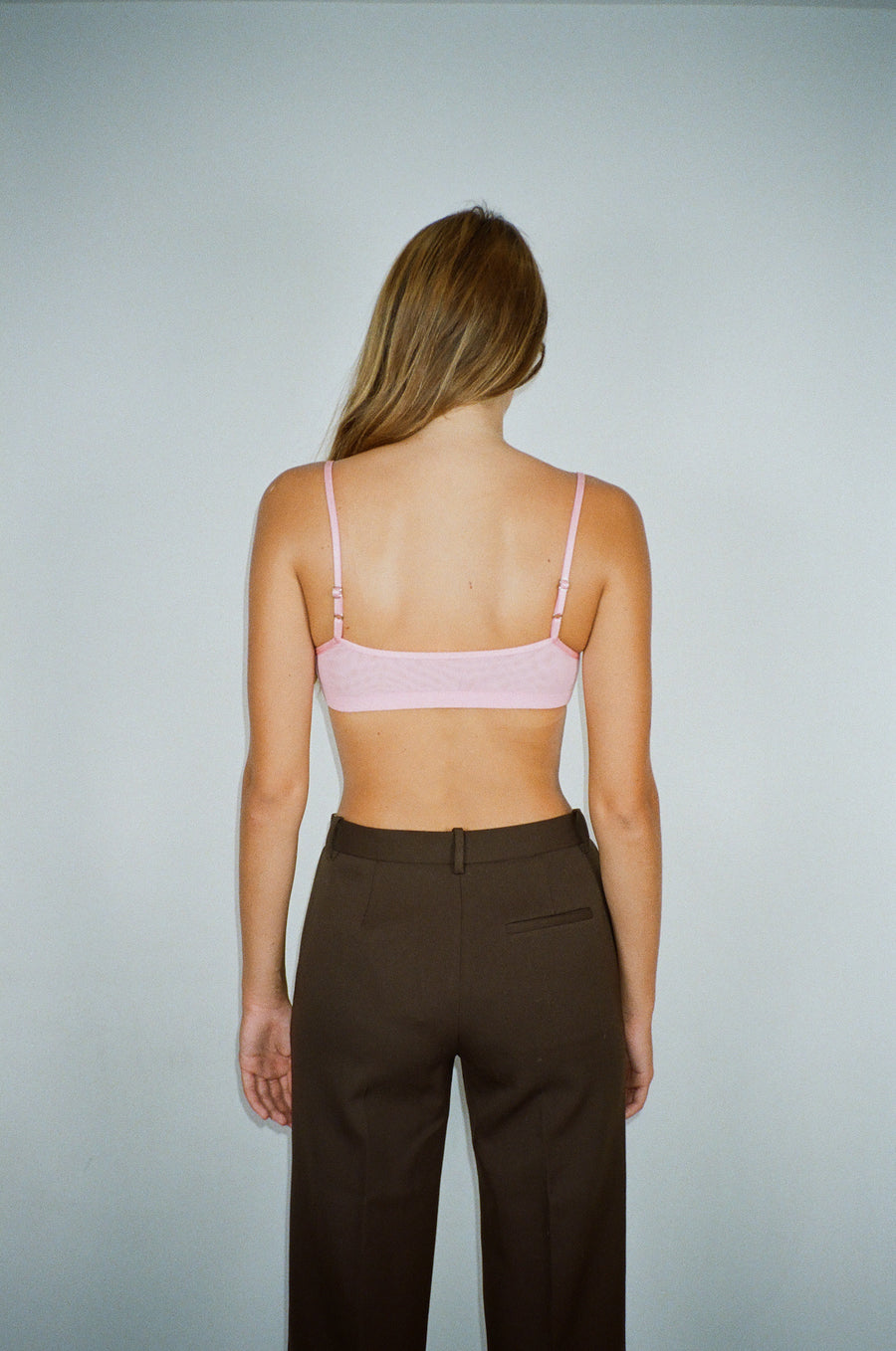 Training Bralette in Pepto